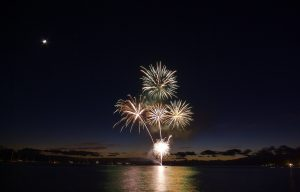 Fireworks from Lahaina