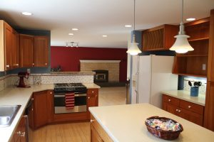 Open spacious kitchen at 149 Englewood