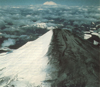 Prior to eruptions March 1980 Mt St Helens