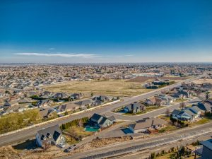Daytime view from 5320 & 5330 Hershey Lane West Richland MLS#245899 & 245900