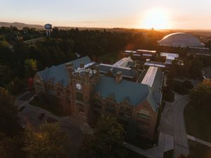 University of Idaho campus