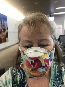 Double masks for air travel during the pandemic